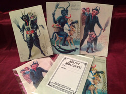 Edible Krampus Cards