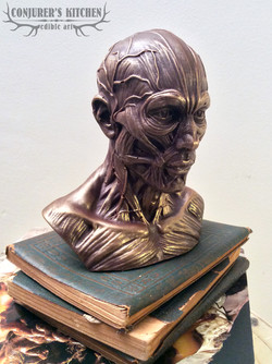Chocolate Anatomical Man Bust