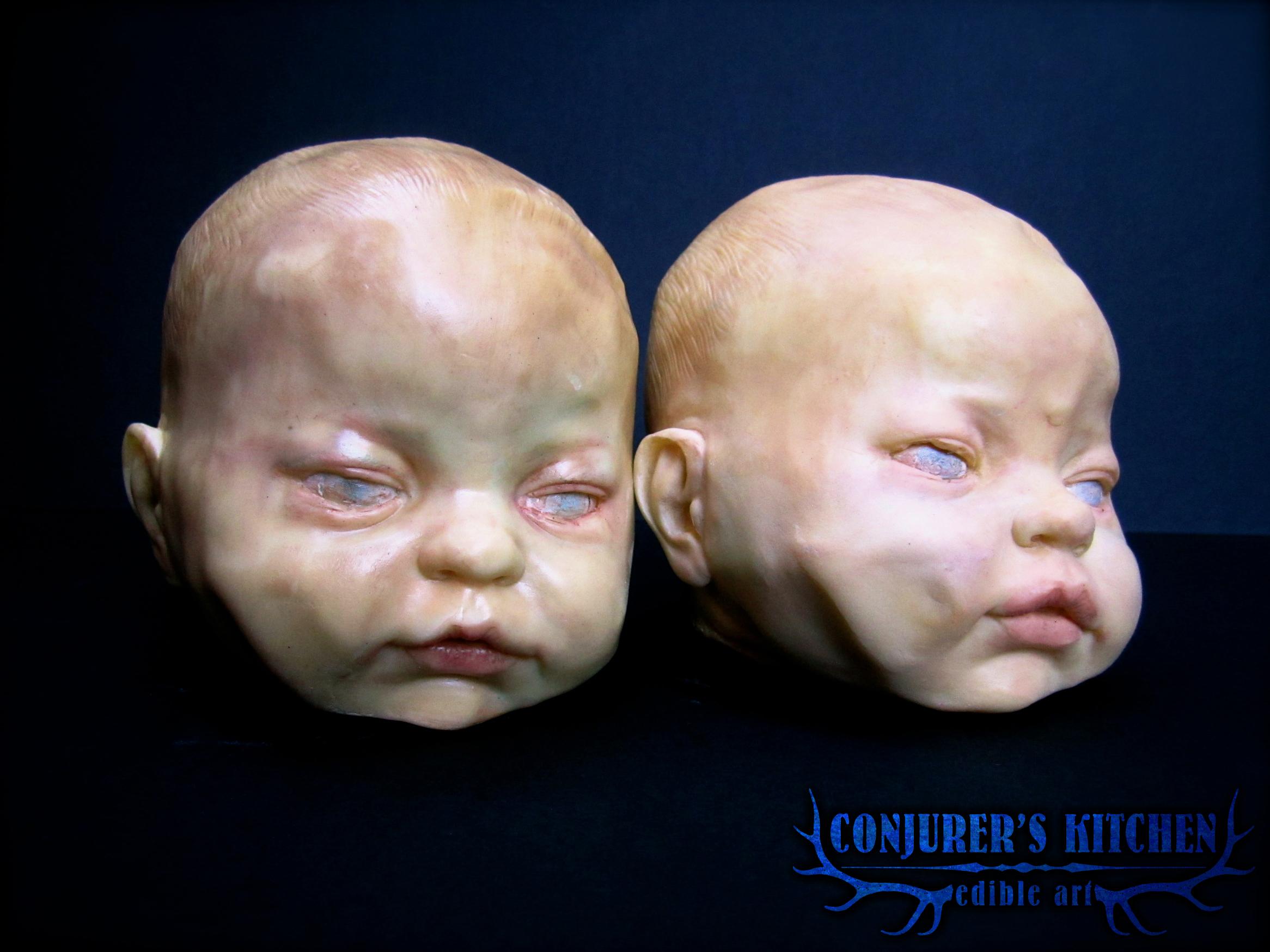 Chocolate Baby Heads