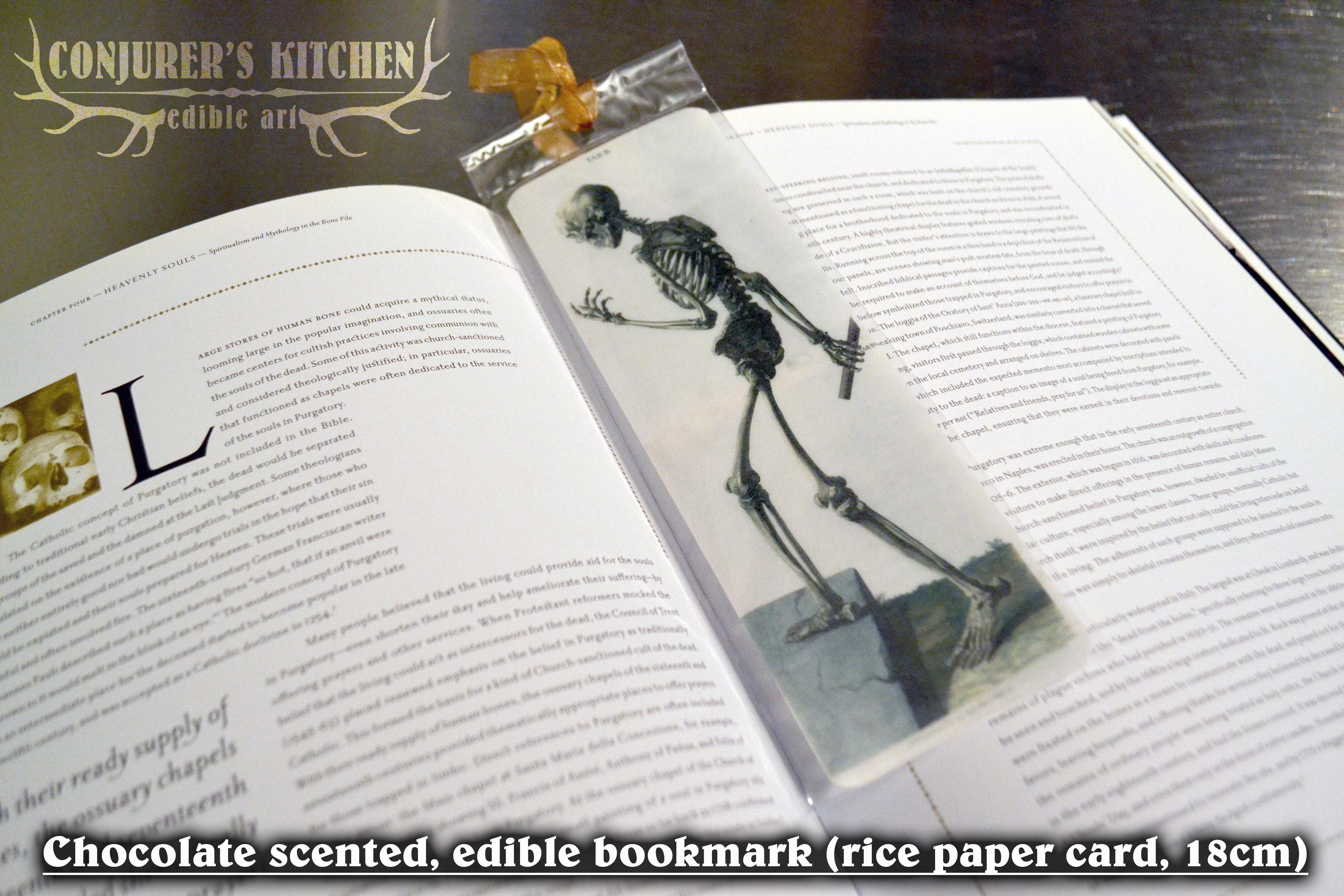 Edible Bookmarks