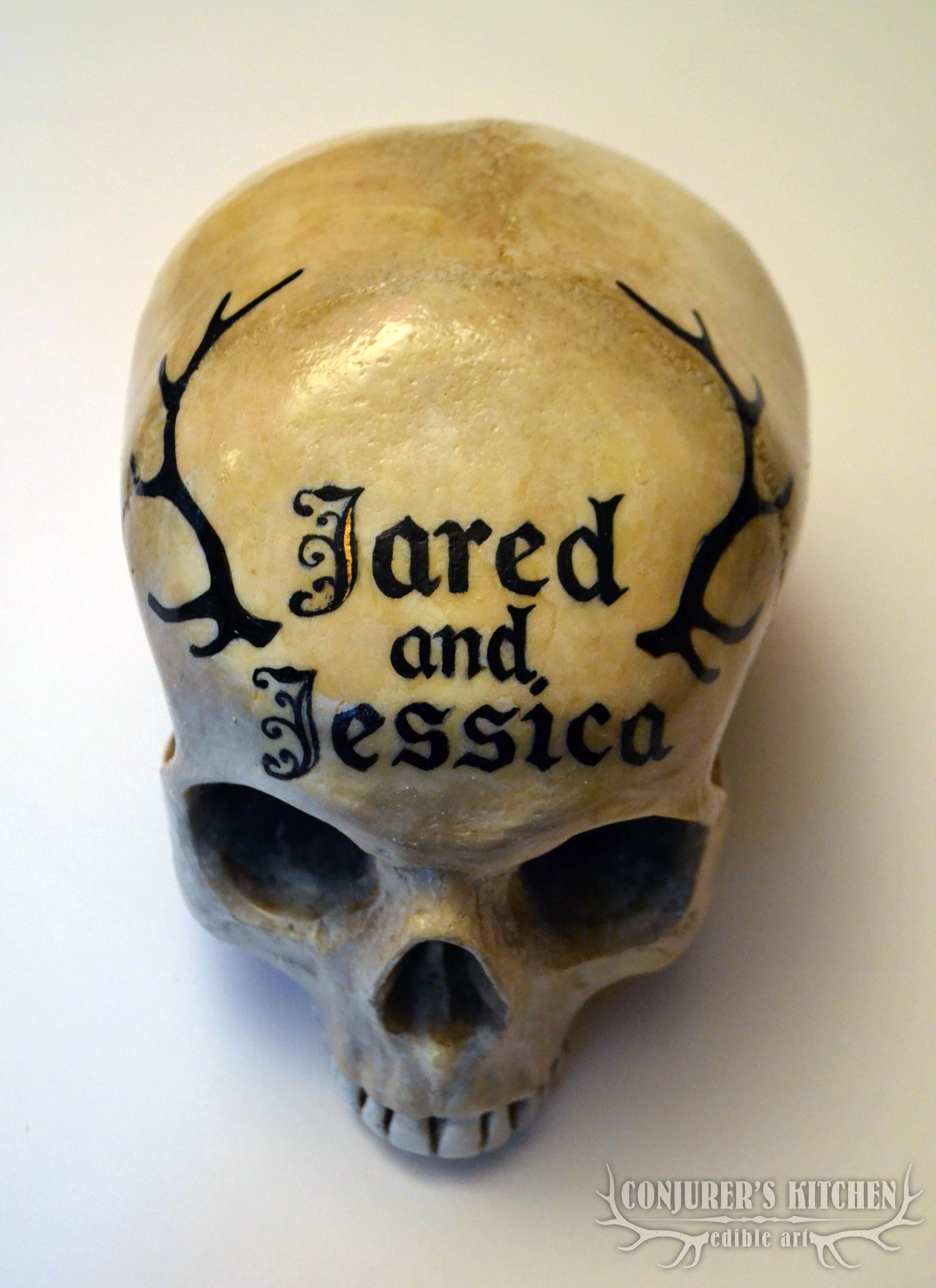 Custom Chocolate Human Skull