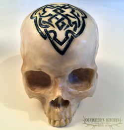 Chocolate Celtic Skull