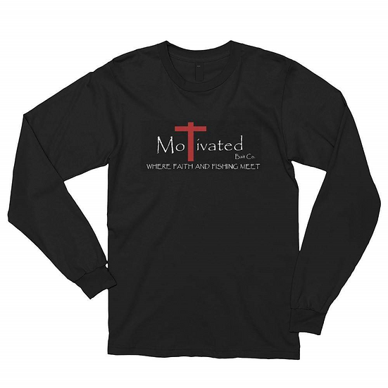 Black Longsleeve MoTivated Shirt