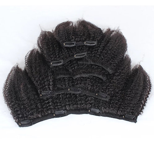 Kinky Curly 3c-4a Clip ins