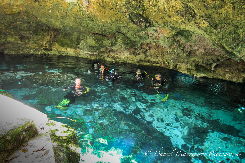 L'entrée du monde Maya