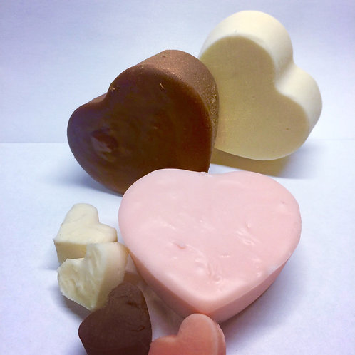 Heart-Shaped Fudge (Pick Your Flavor)