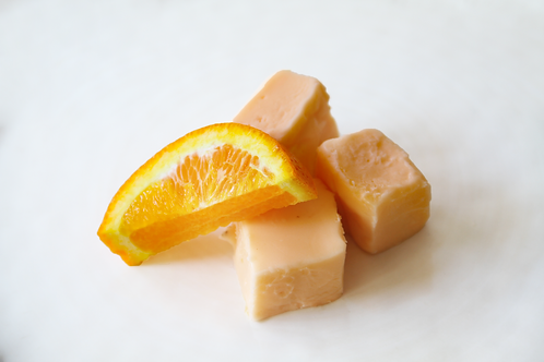Orange You Happy Fudge (Wht Choc Flavored w/Orange)