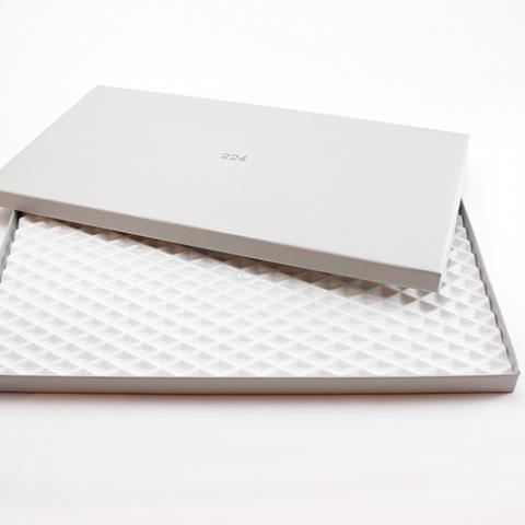 Diamond Pattern Platter