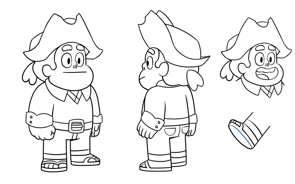 Steven Outfit Change
