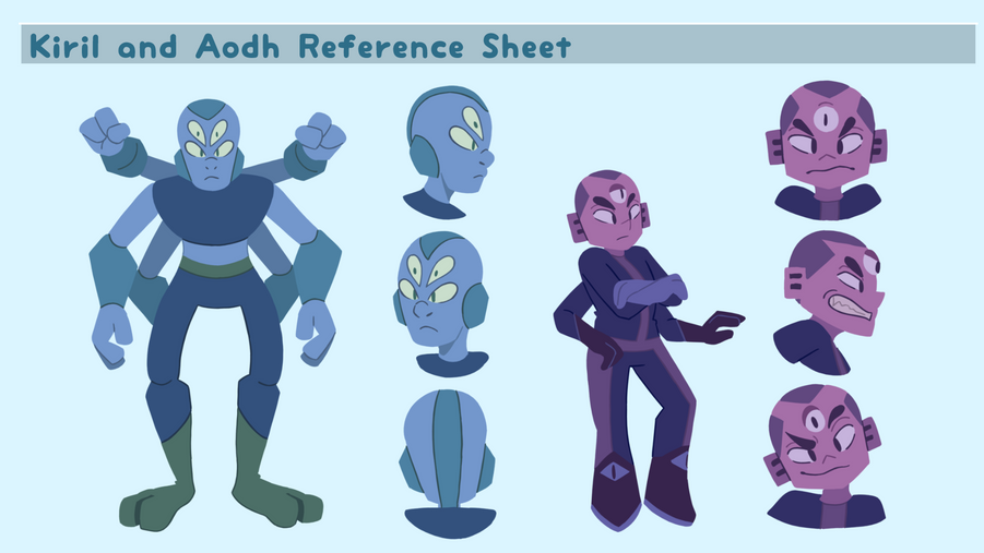 Kiril & Aodh Character Sheet