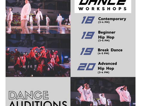 NSS DANCE SEASON START UP!