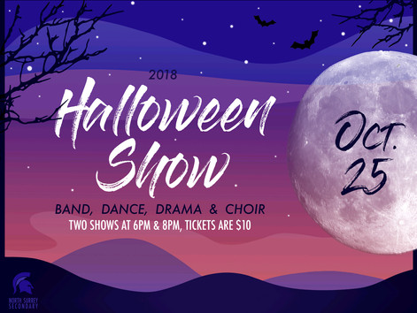 You're invited to the North Surrey Halloween Show!