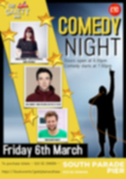 Copy of Stand up Comedy Night Flyer Post