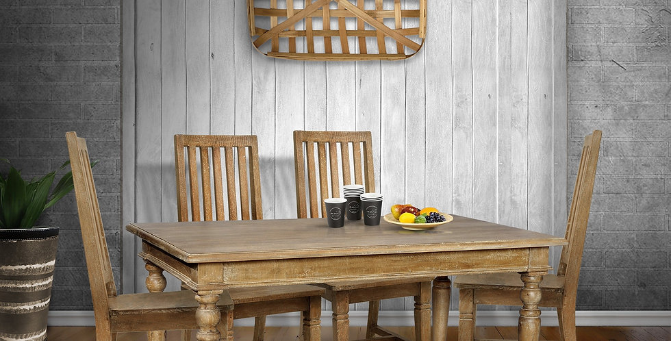 MAH372 - Suffolk Dining Table 5ft