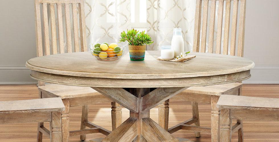 MAH787 - Chamonix Round Dining Table 5ft