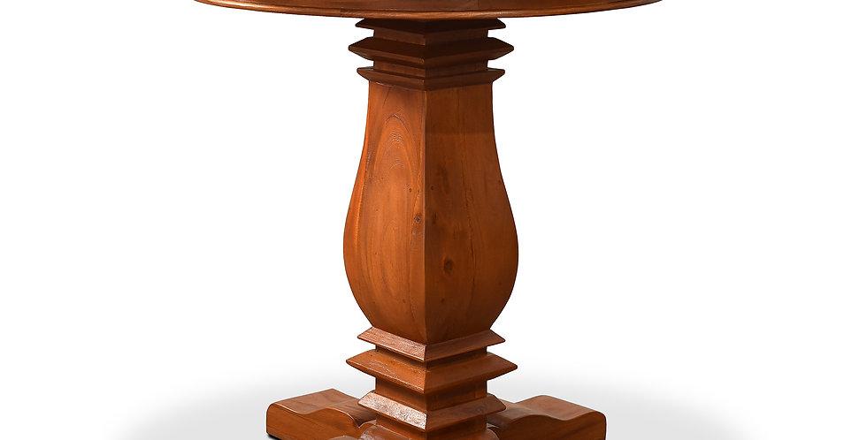 """MAH818 - Santa Fe Round Balustrade Bar Table 40"""""""