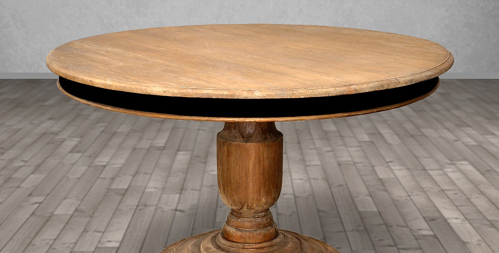 MAH625 - Los Cabos Round Pedestal Dining Table Counter Height 5 ft