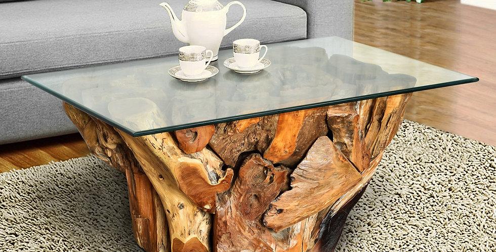 SEN073 - Teak Root Coffee Table