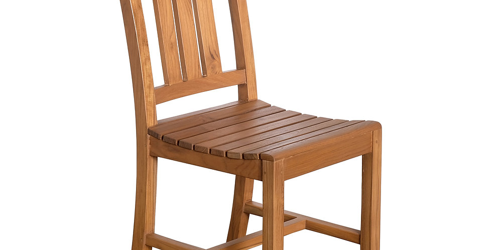 OTT078 - Teak Capri Dining Chair no arms