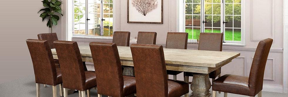 "MAH425 - Santa Fe Balustrade Dining Table (120"")"