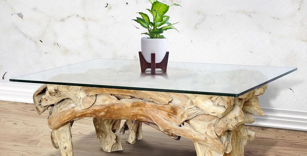 SEN080 - Teak Root Coffee Table