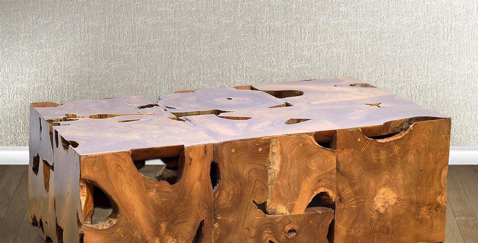 SEN092 - Teak Root Rectangular Coffe Table