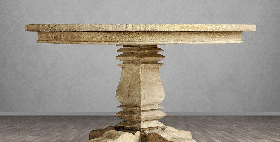 "MAH788 - Santa Fe Round Balustrade Dining Table 54"""