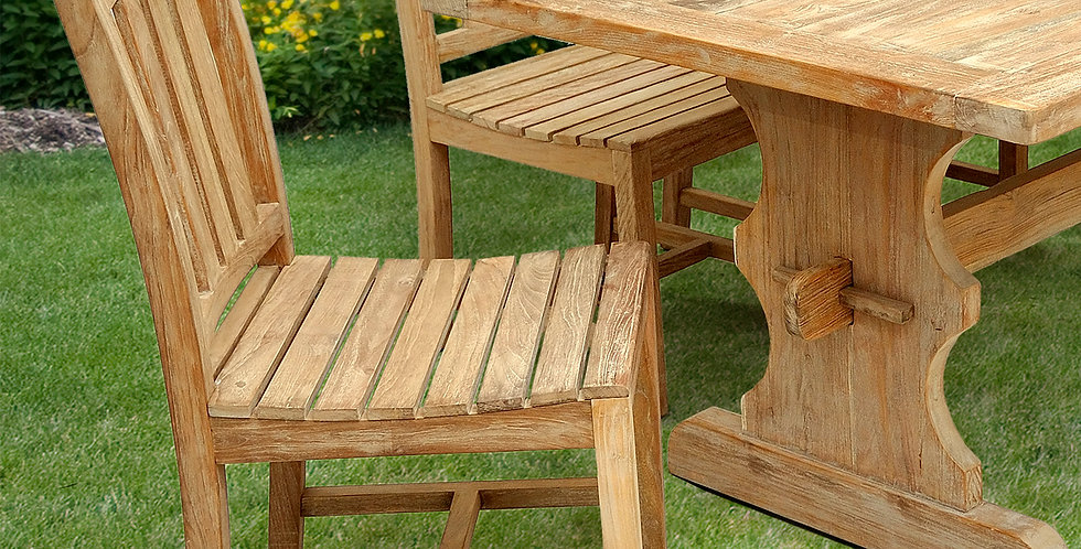 OLT044 - Capri Reclaimed Teak Dining Chair