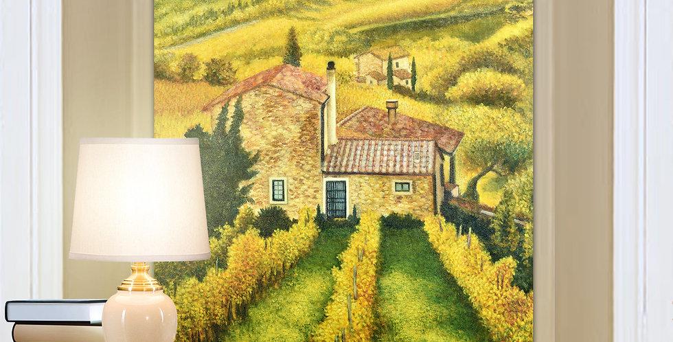 CVP004 Tuscan Vineyard