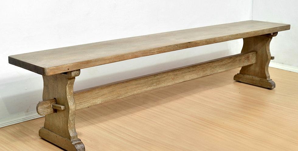 MAH387 - Santa Fe Rustic Trestle Dining Bench