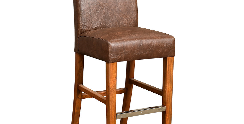 MAH819 - Brugge Parsons Bar Chair with curved cushion
