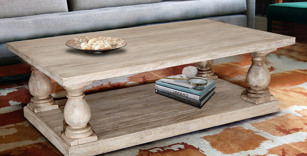 MAH430 - Pedestal Coffee Table