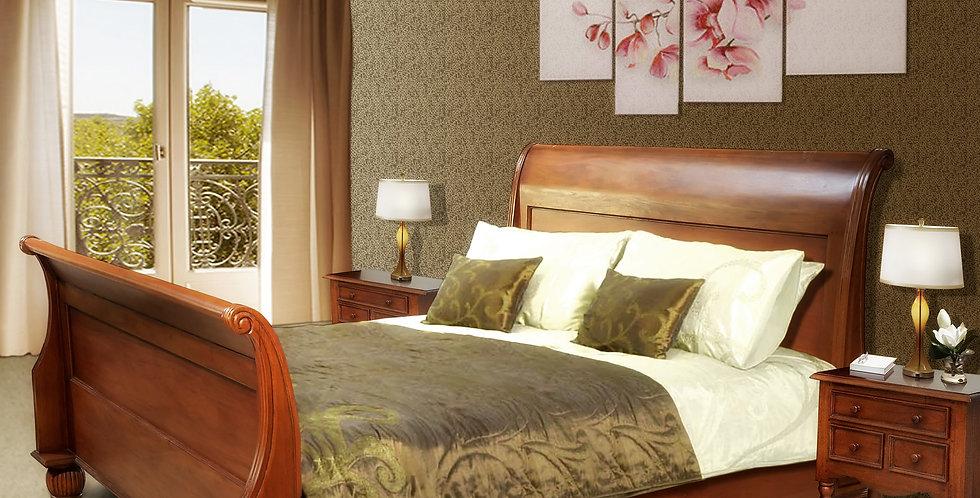 MAH282 - Sleigh Bed