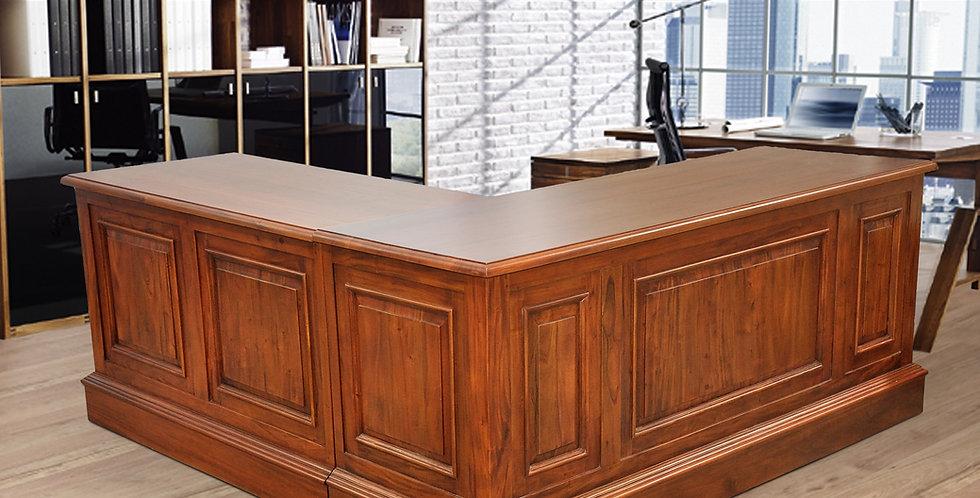MAH606 - L Shape Executive Desk 6ft x 6ft