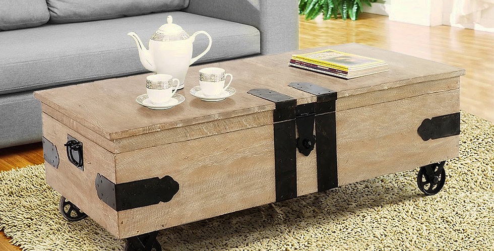 MAH707 - Utility Trunk Coffee Table
