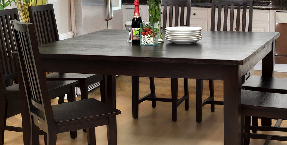 MAH517 - Lodge Square Dining Table 5ft