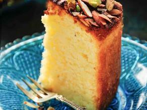 Vegan Mawa Cake