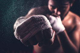 Canva - Selective Focus Of A Boxer's Fis