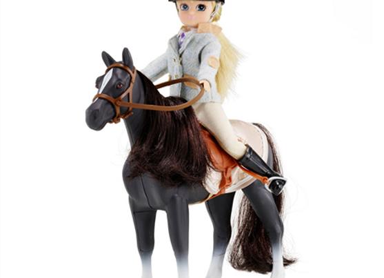 Poupée Lottie et son poney