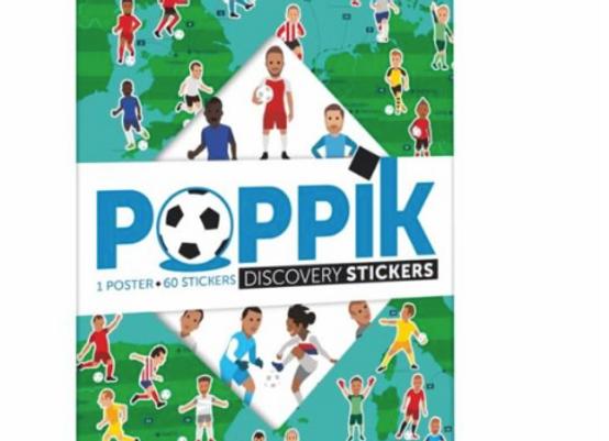 Poster éducatif Football + 60 stickers