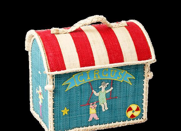 Coffre à jouets cirque vert - moyen