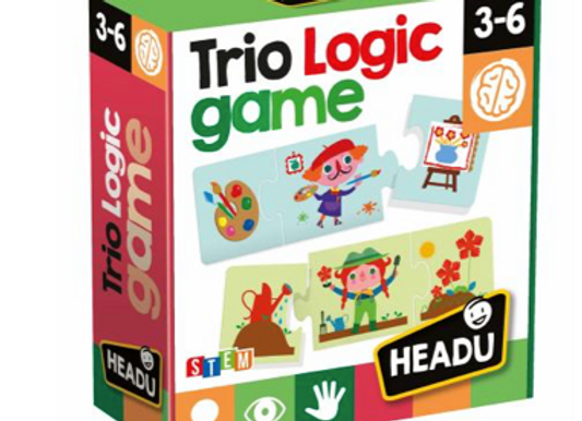 Trio Logic Game Âge: 3-6 - HEADU