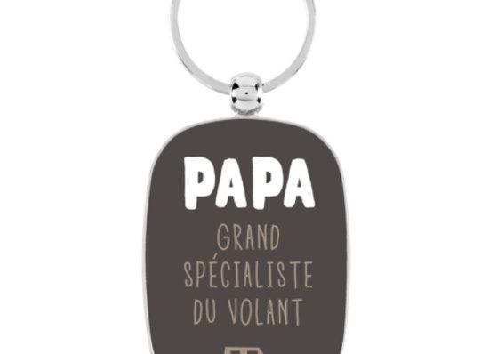 Porte clef papa grand spécialiste