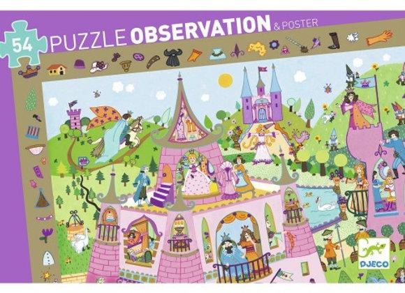 Puzzle observation Princesses  4 ans Deco