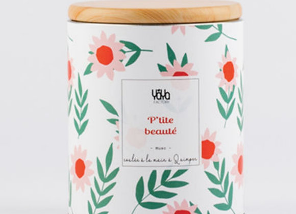 """Bougie """"petite beauté """""""