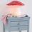 Thumbnail: Lampe champignon moyen rouge - Egmont tous