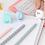 Thumbnail: Crayons avec gomme - Lait, tasse et glace