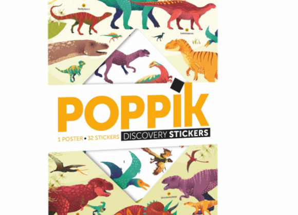 POPPIK - Contient : 1 poster + 35 stickers