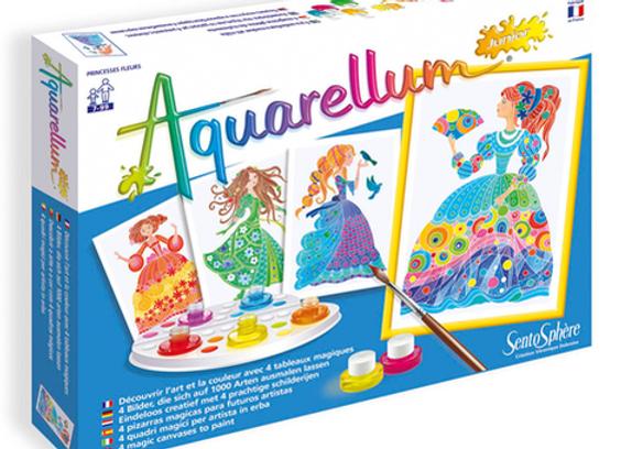 """Aquarellum Junior """"Princesses Fleurs"""""""