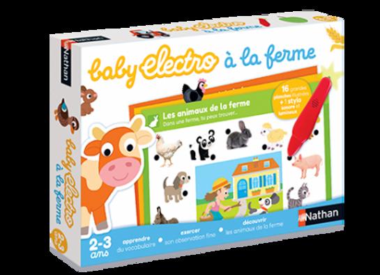 Baby Electro la ferme- Nathan